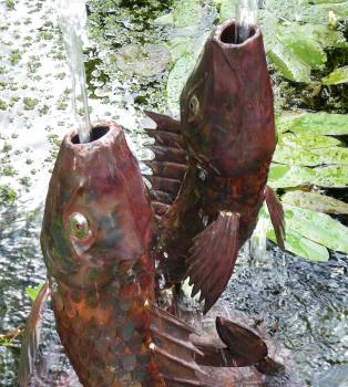 Second New Fish Fountain for Hampton Court
