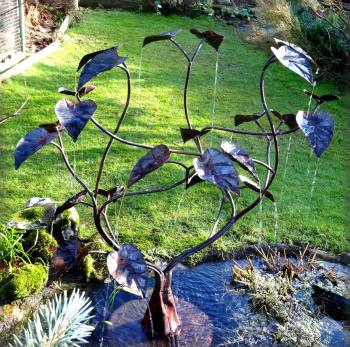 New Design in 2014 - Small Catalpa Tree Fountain